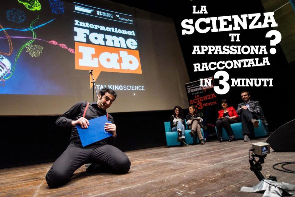 Cercasi talenti per il FameLab 2017 a Cagliari