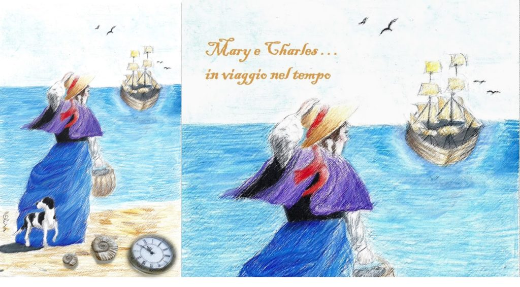 Mary Anning e Charles Darwin per SHARPER
